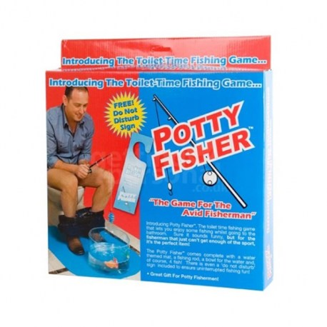 Toilet Mat / WC Sportviser Set / Potty Fisher